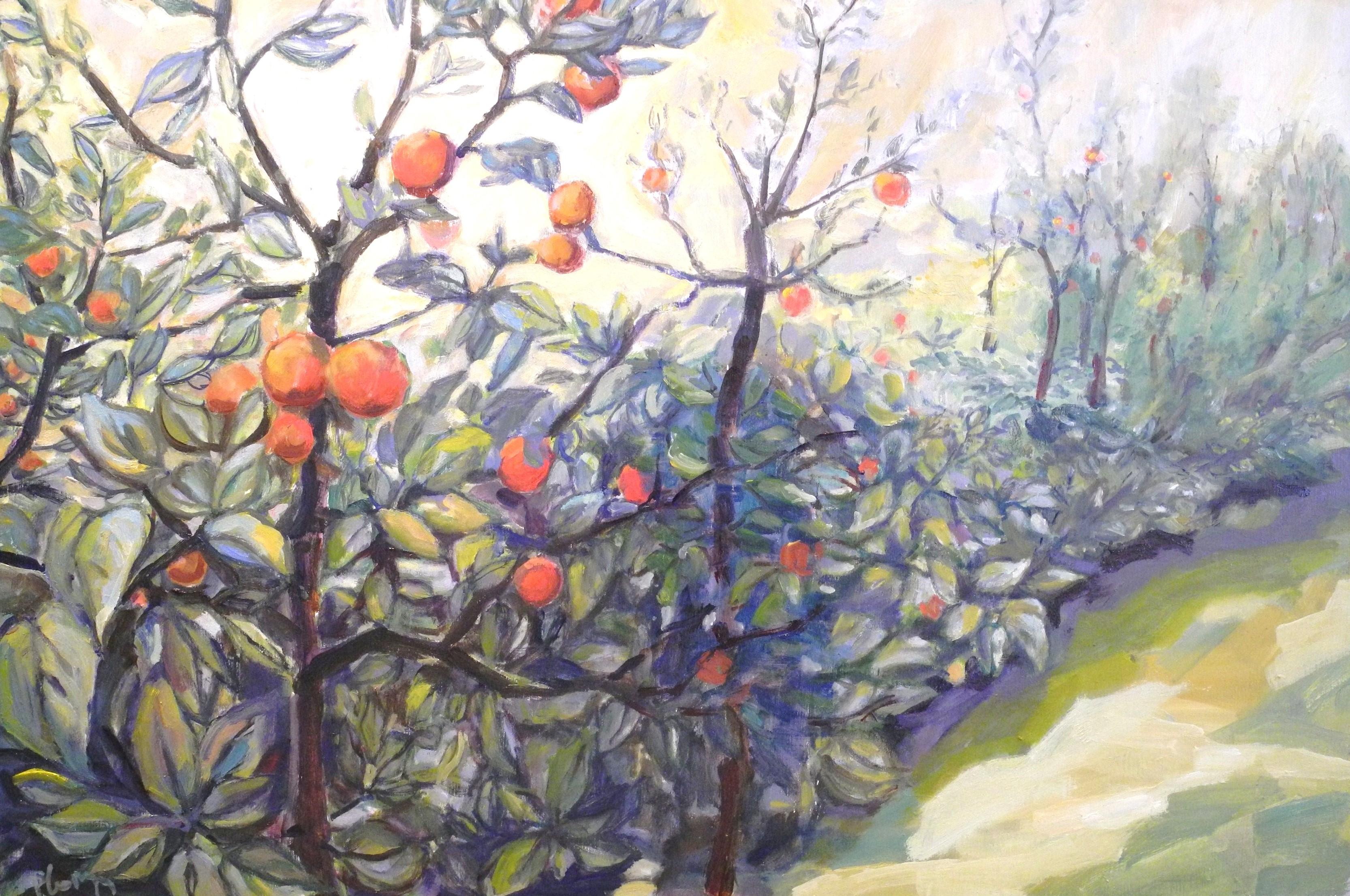 de appels rijpen