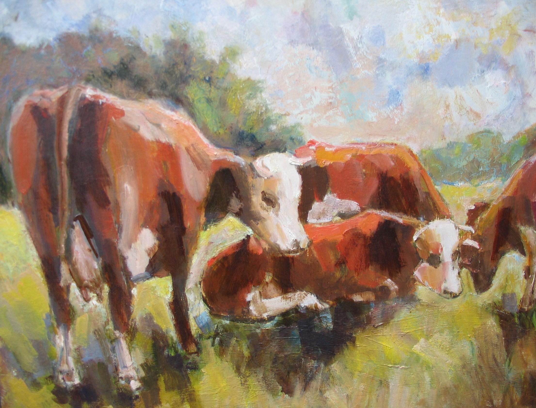 roodbont vee